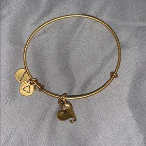 alex and ani heart arrow bracelet